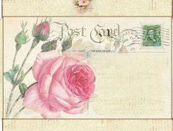 Vintage templates for printing paper envelopes