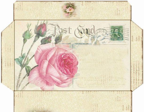 винтажные конверты скачать