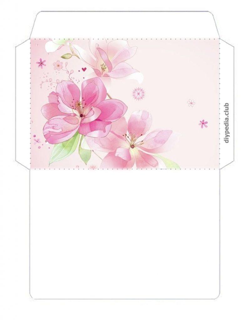 цветочные конверты