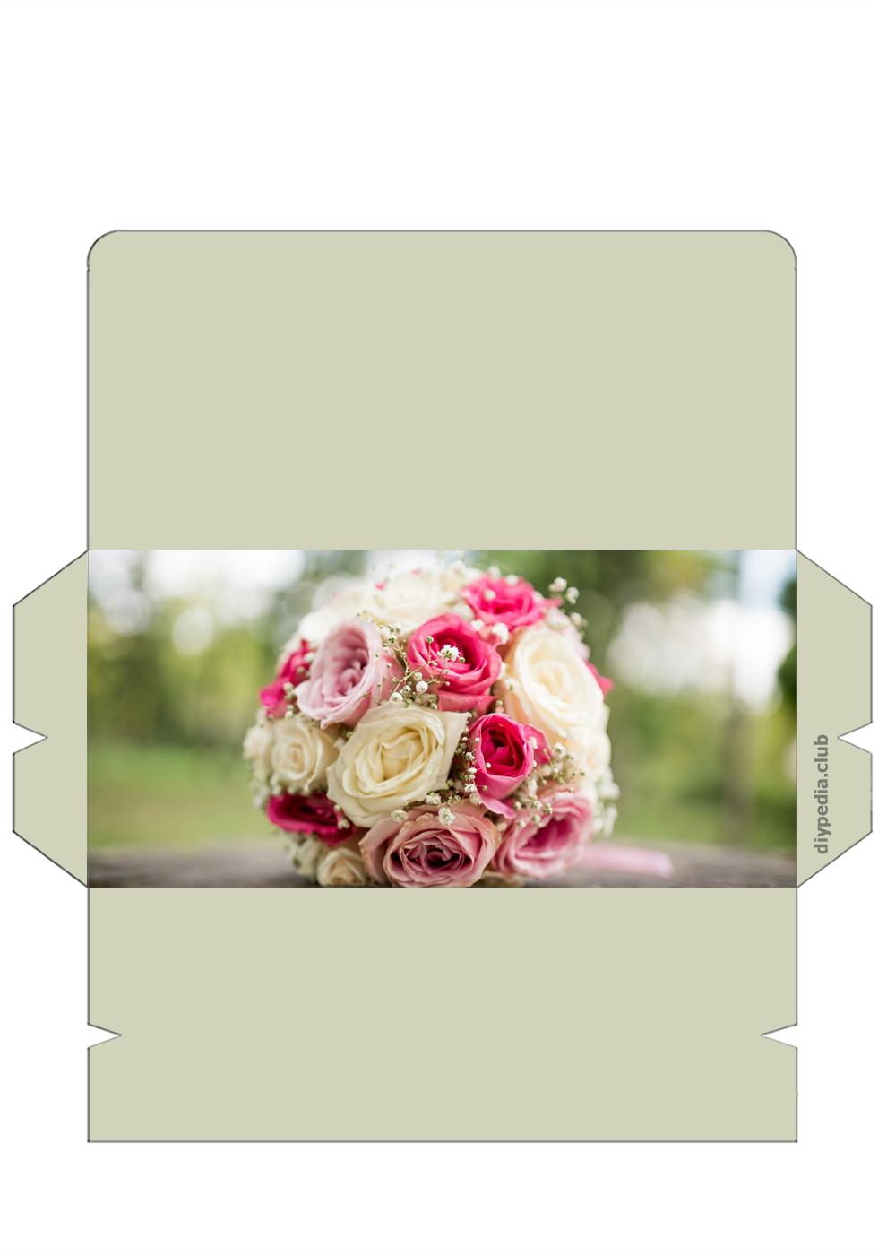 конверт на свадьбу своими руками