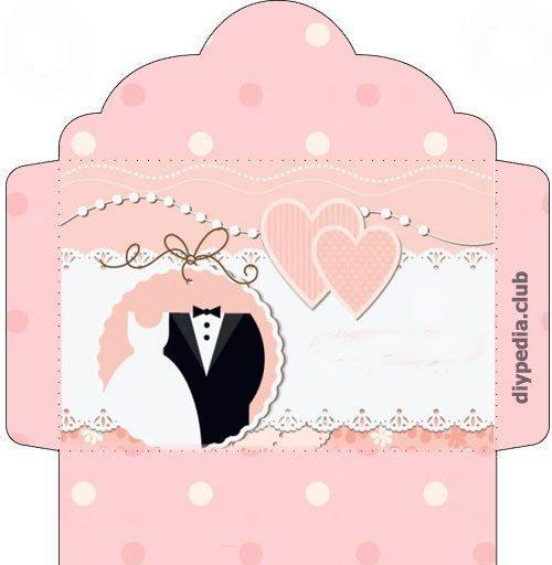 Wedding Envelope Scrapbooking