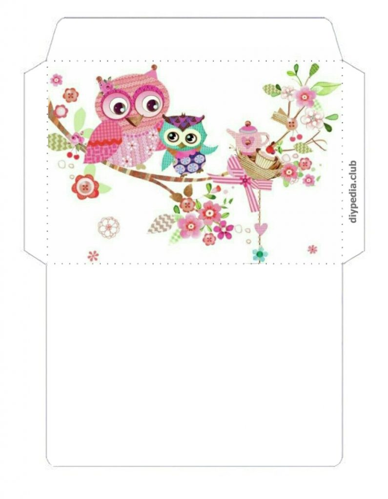 Gift Envelope template for money
