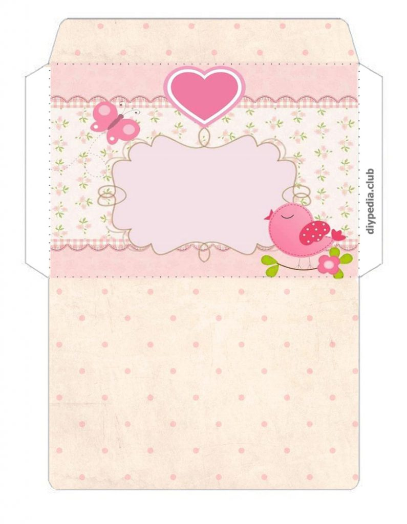 Envelopes for Money templates print