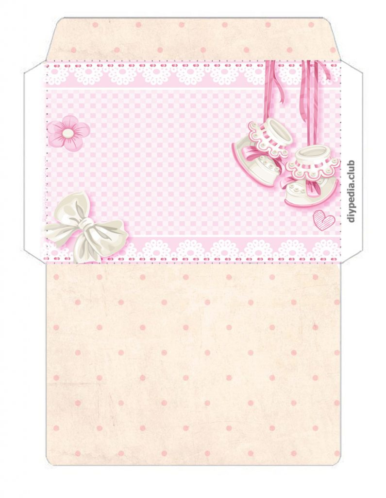 Envelope for the newborn with your own hands