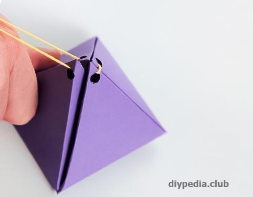бумага пирамида