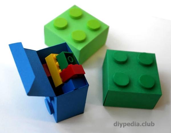 маленькие коробочки лего
