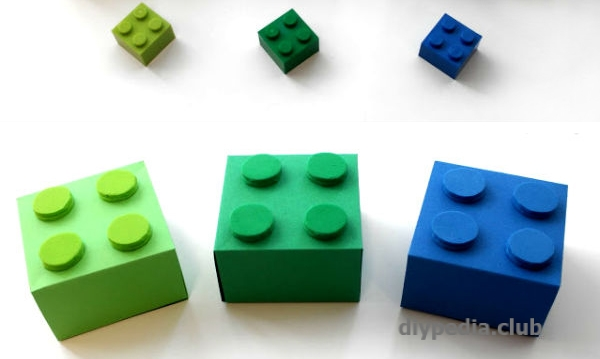 оригинальные коробочки лего