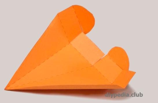 бумажная упаковка морковка своими руками