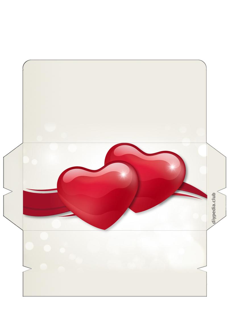 Открытка конверт на свадьбу шаблоны