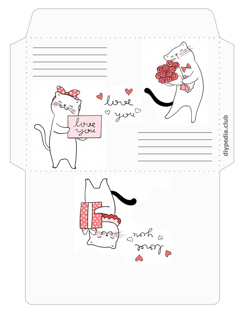 развертка конверта