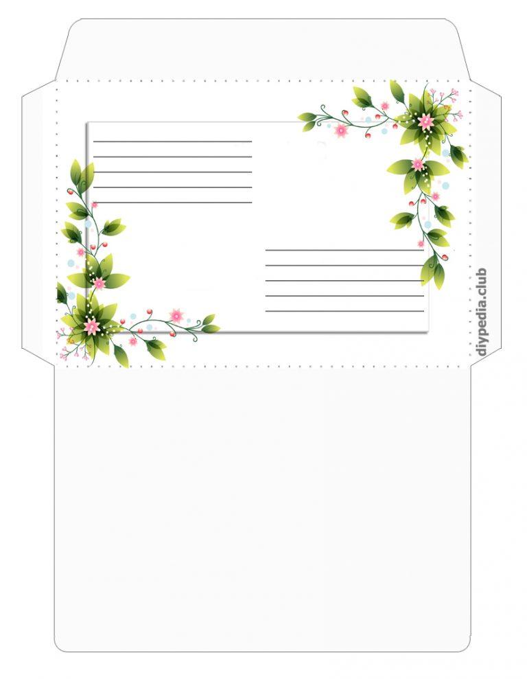 Лампа, конверты для писем красивые