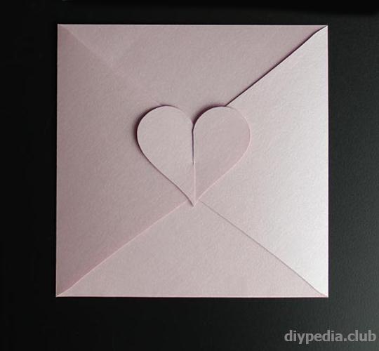 как сделать конверт своими руками
