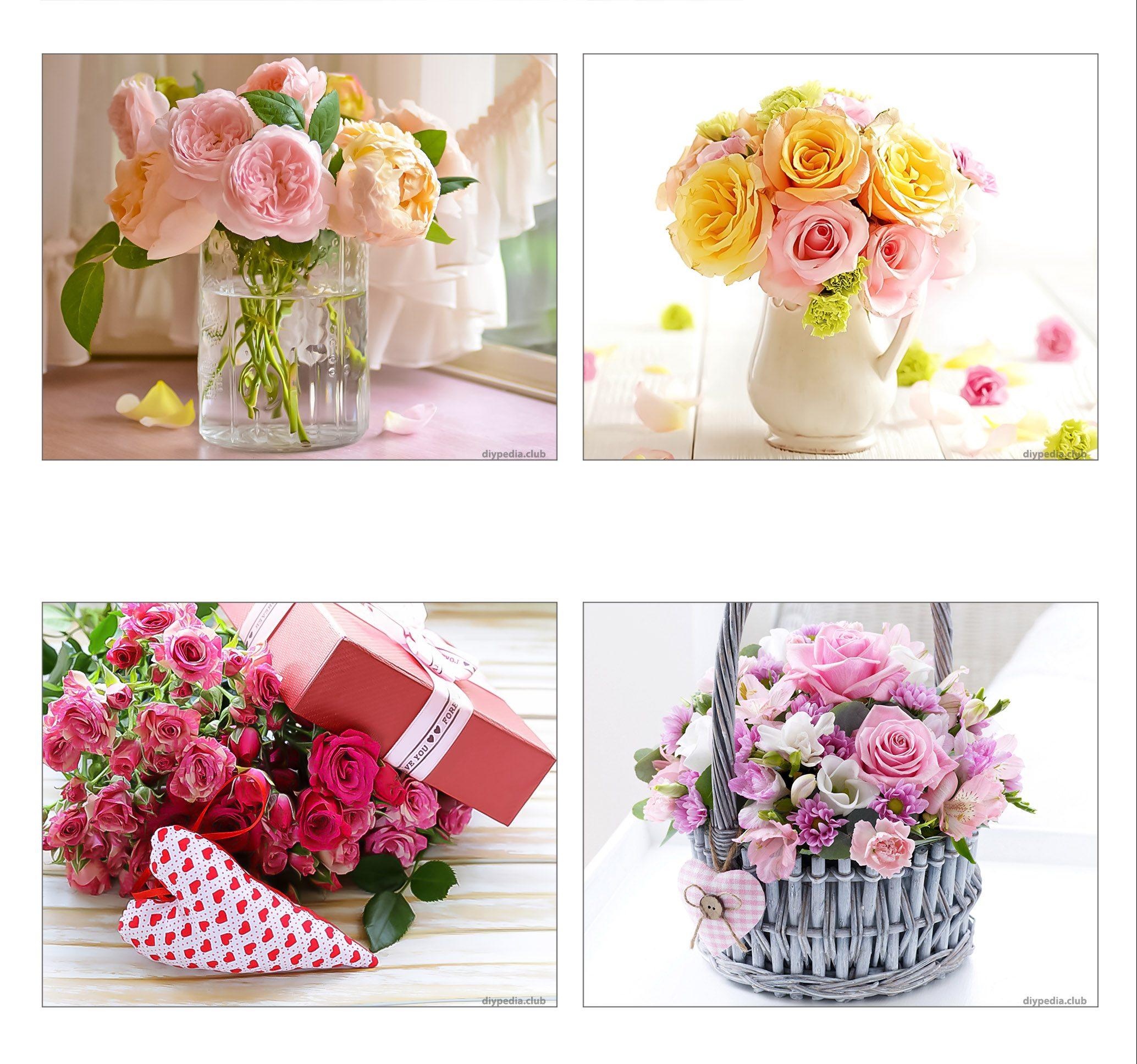 Открытки с цветами