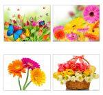 Красивые открытки с цветами своими руками